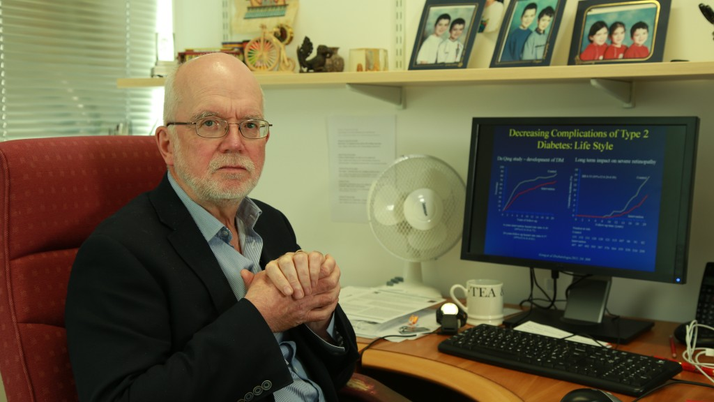 The Glucosense Monitor intervieweee - University Clinician - Prof Peter Grant