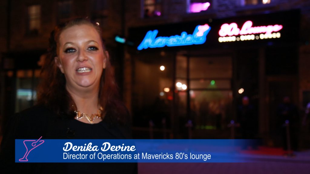 Denika Devine - Huddersfield Mavericks 80s Lounge Opening
